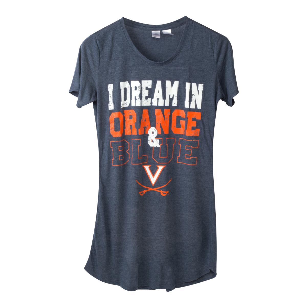 University of Virginia Cavaliers Ladies Nightshirt