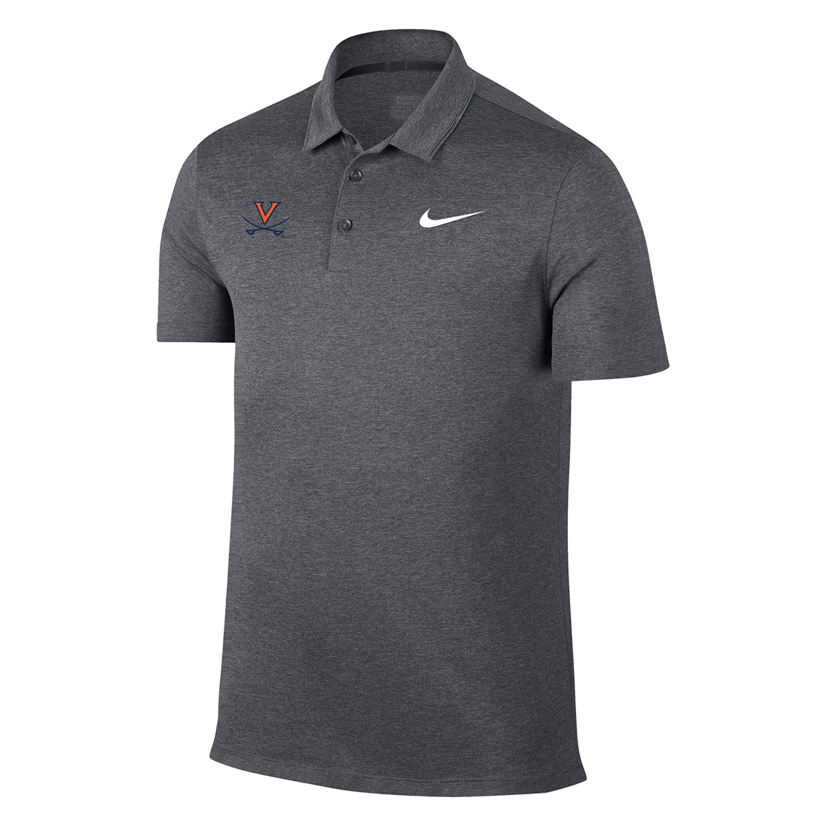 University of Virginia Breathe Heather Polo