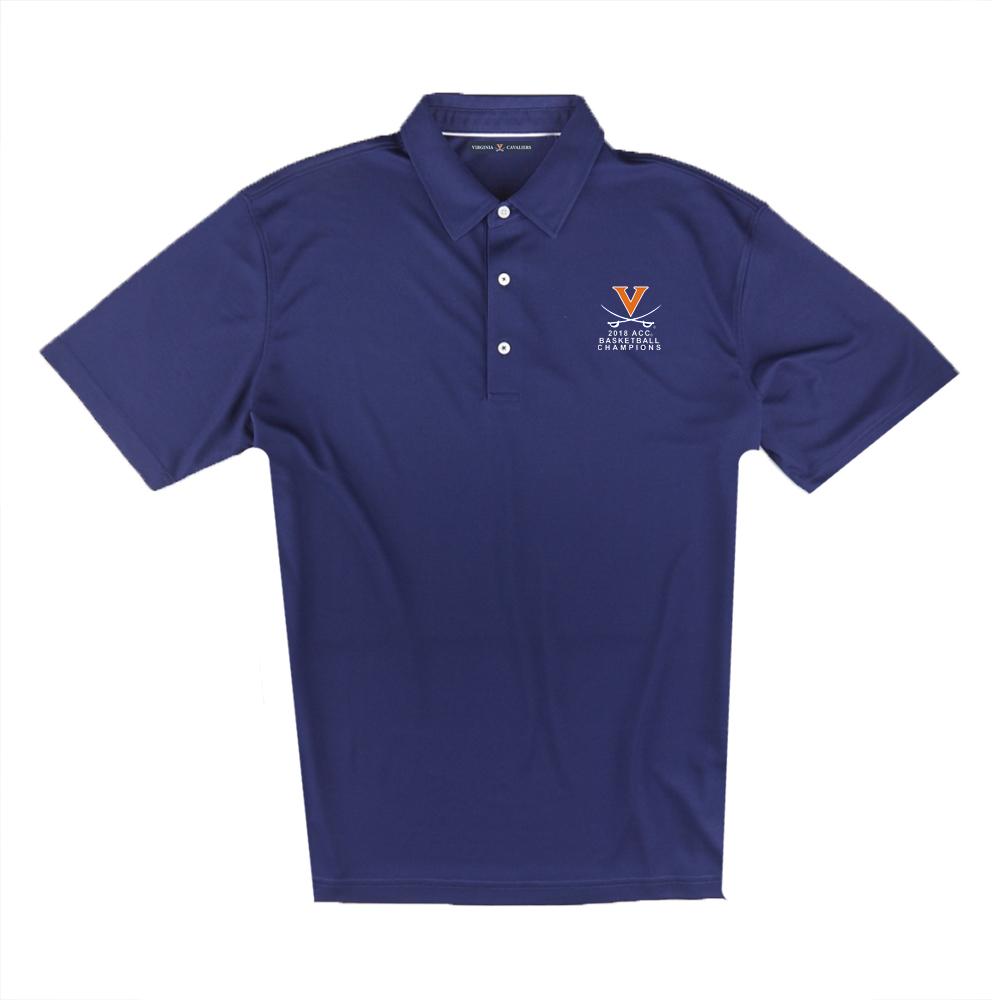 University of Virginia 2018 ACC Champions Pique Polo