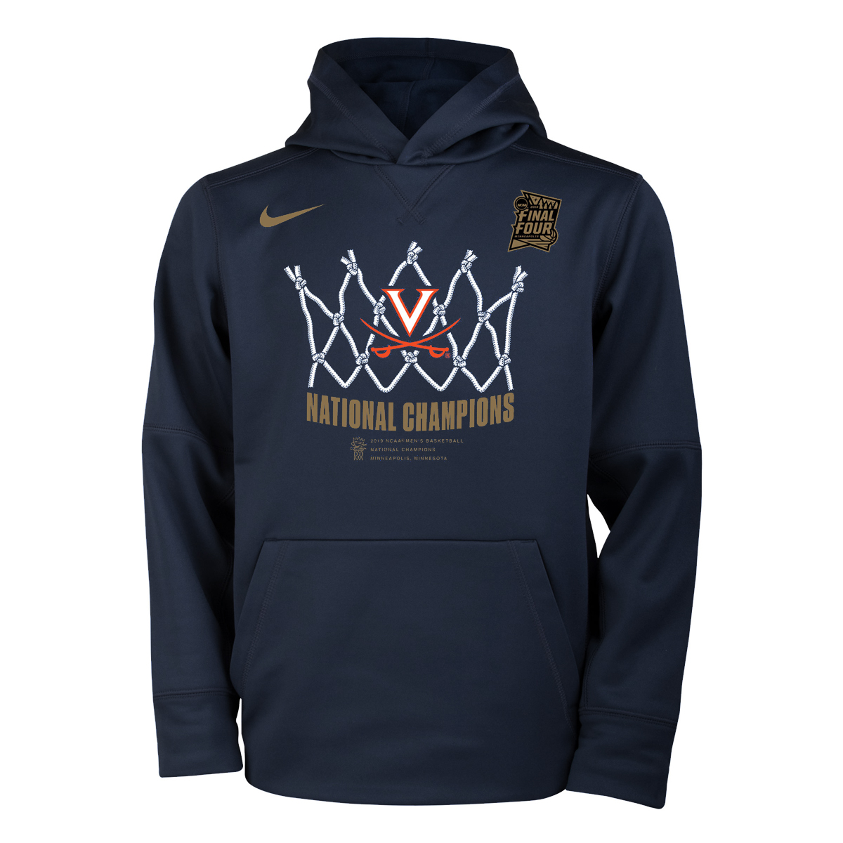 2019 National Champions Locker Room Youth Hoodie