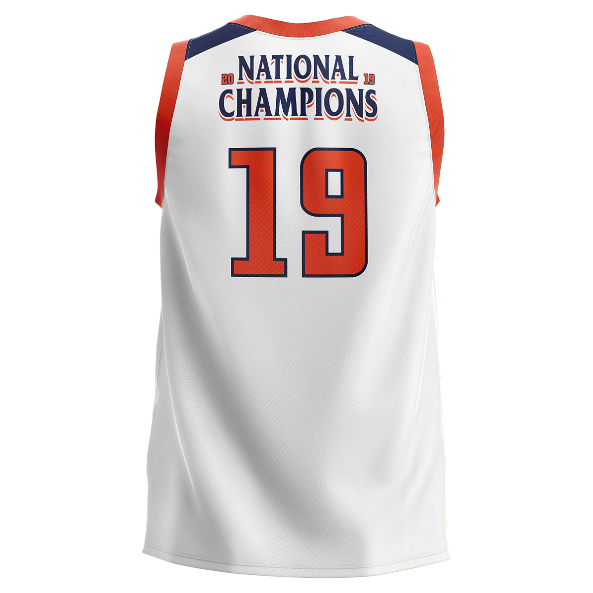 UVA 2019 National Champions Adult White Jersey