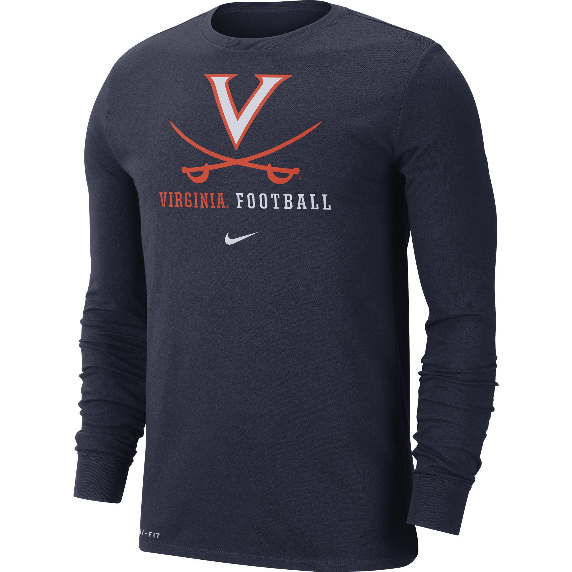 University of Virginia Football Longsleeve Crew