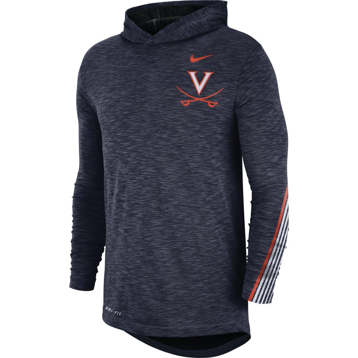University of Virginia Sideline Dri-Fit Nike Hoodie