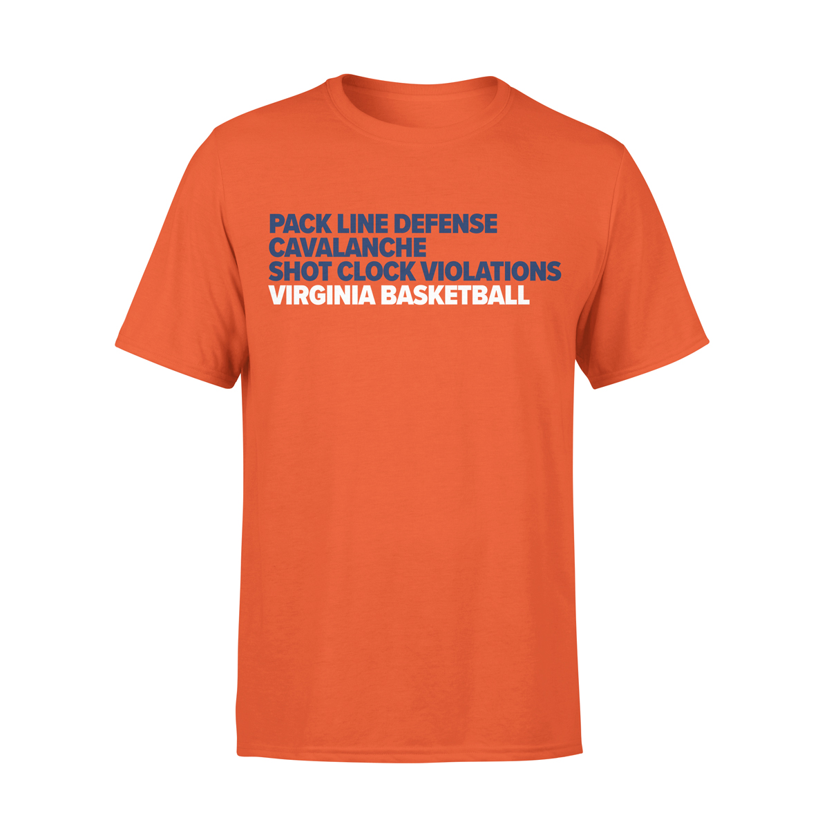 University of Virginia Basketball Word Stack T-shirt