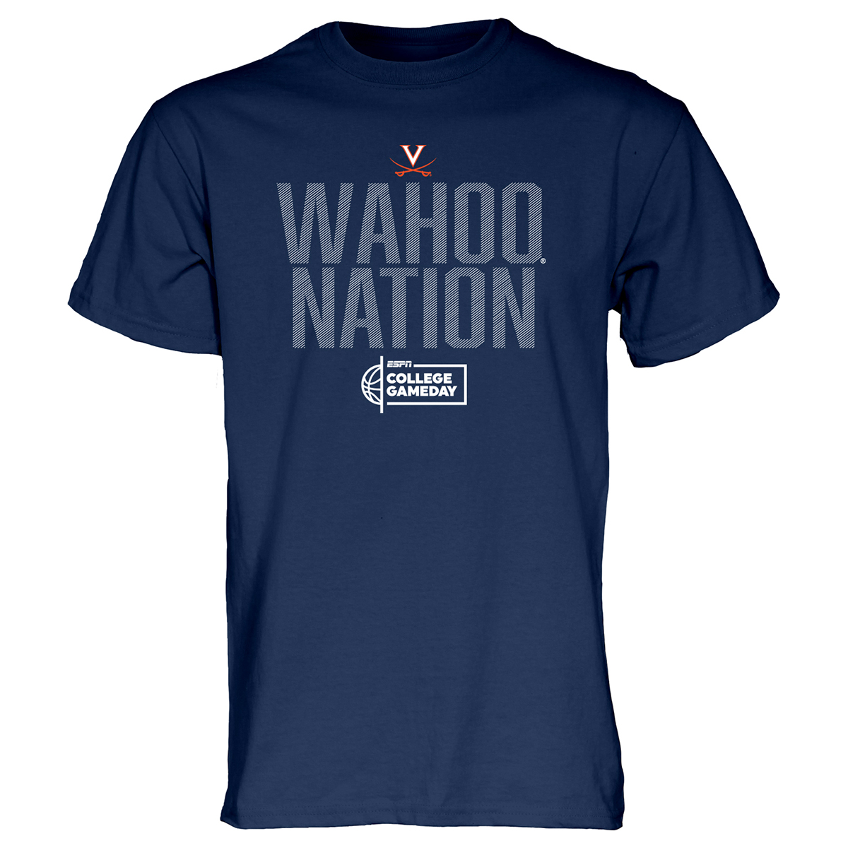 University of Virginia College Gameday Wahoo Nation T-shirt