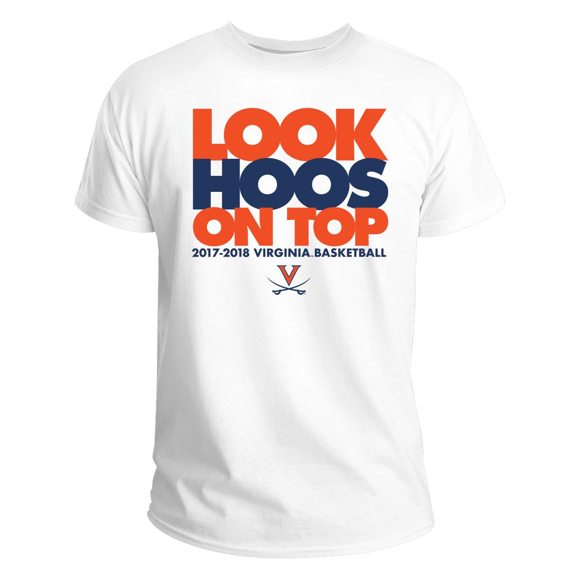 University of Virginia Look Hoos on Top T-shirt