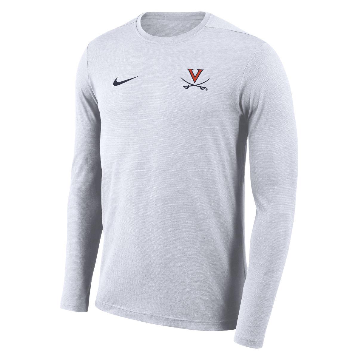 University of Virginia Coach NIKE LS T-shirt