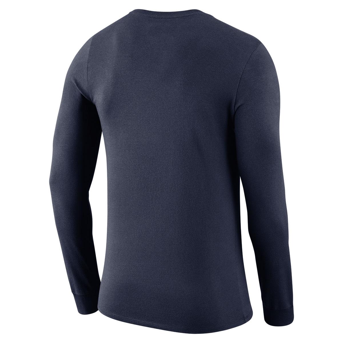 University of Virginia Nike Dri-FIT LS Crew T-Shirt