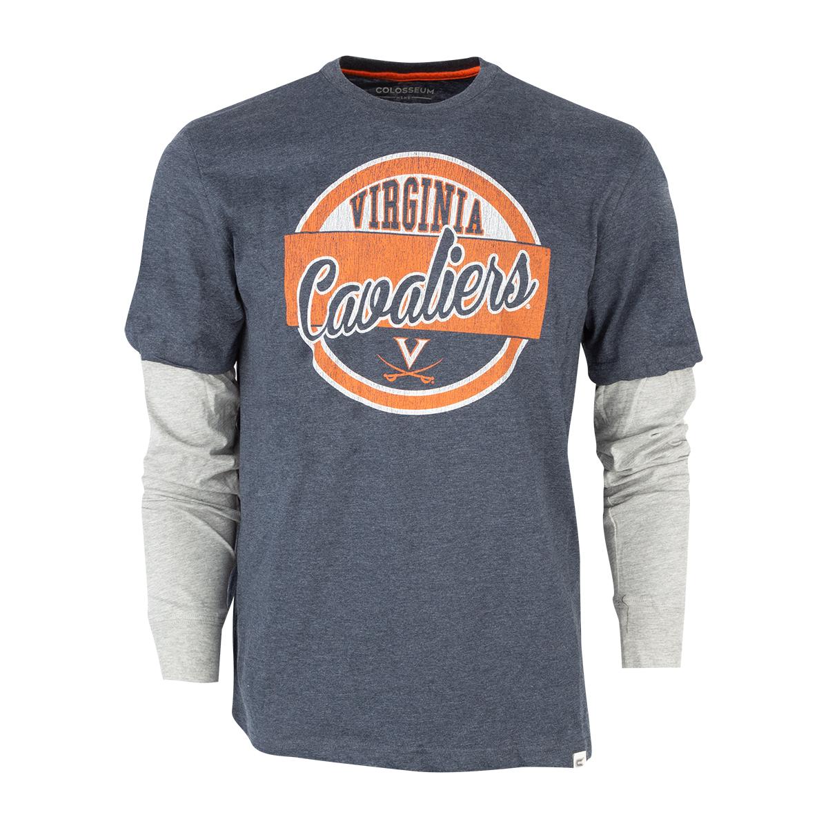 University of Virginia 2-Layer Long Sleeve T-shirt