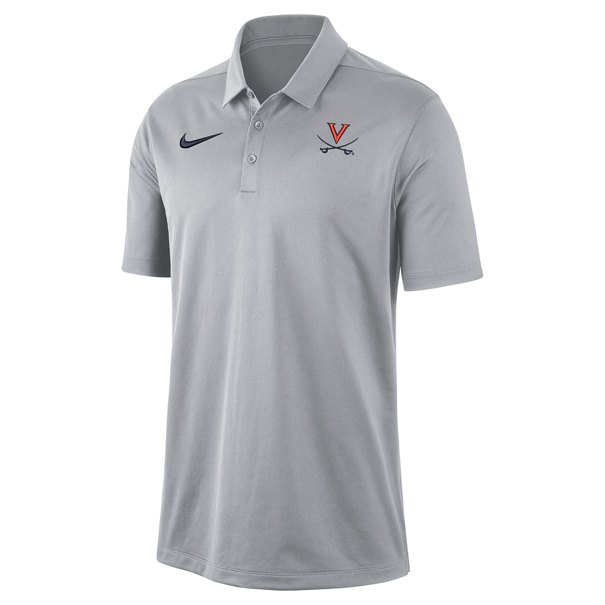 University of Virginia Nike Grey Polo