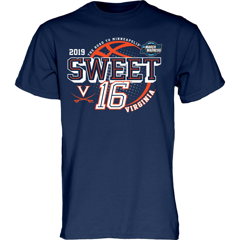 University of Virginia 2019 Navy Sweet Sixteen T-shirt