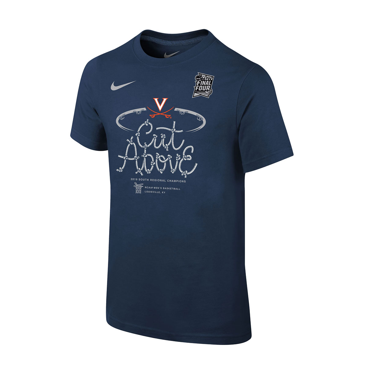 Official Nike 2019 South Regional Champion Locker Room Youth Shirt