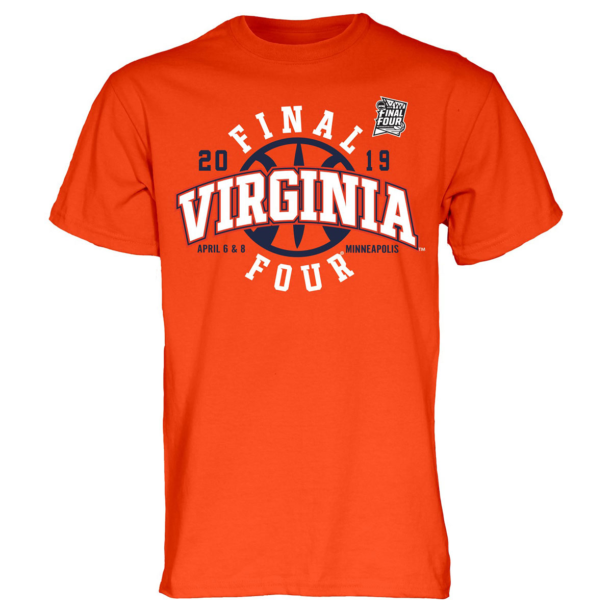 Virginia Basketball 2019 Final Four T-shirt