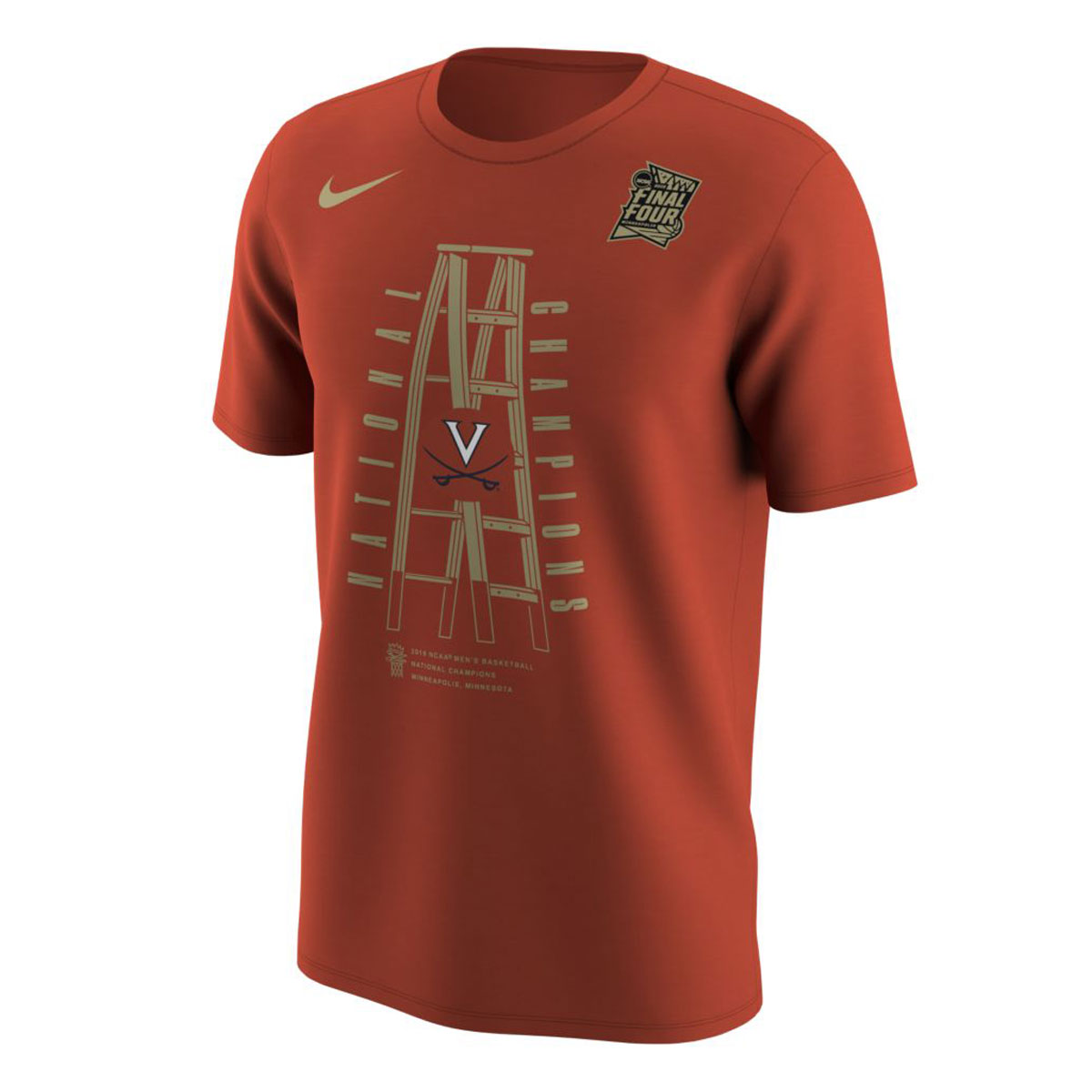 2019 National Champions Ladder T-shirt