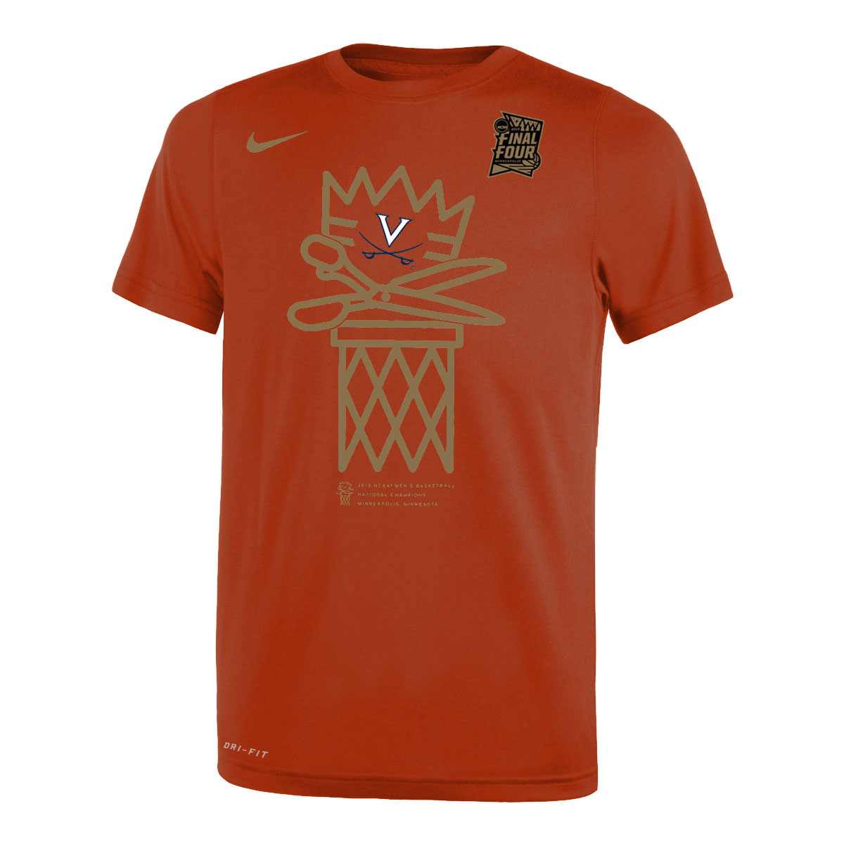 2019 National Champions Net Youth T-shirt