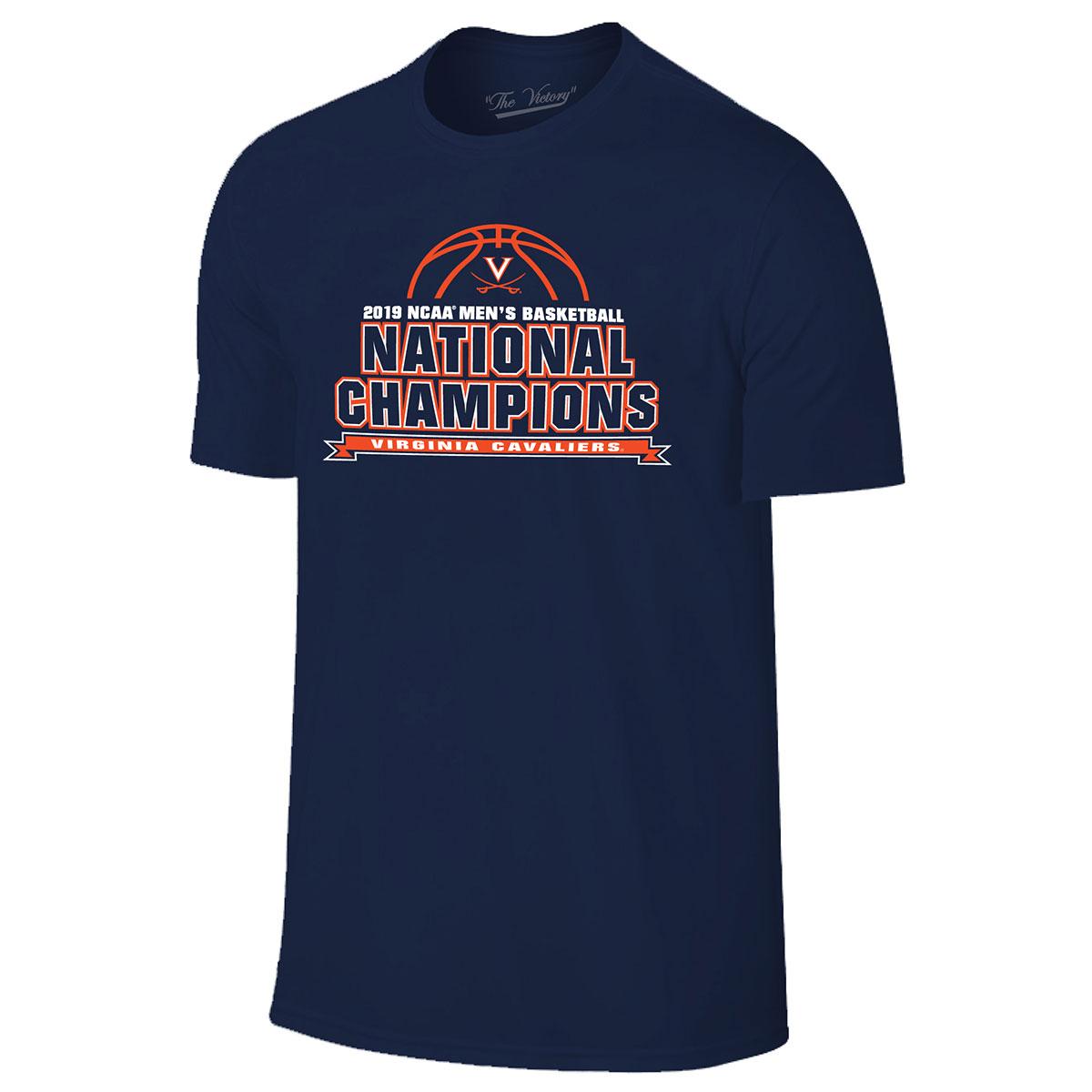 2019 National Champions Bracket T-shirt - Navy