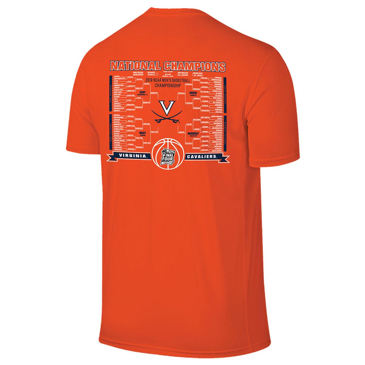2019 National Champions Bracket T-shirt - Orange