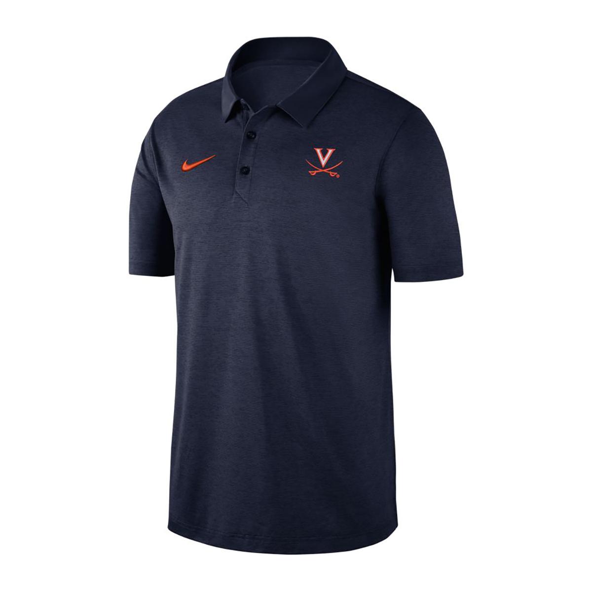 University of Virginia Nike Navy V-Sabre Polo