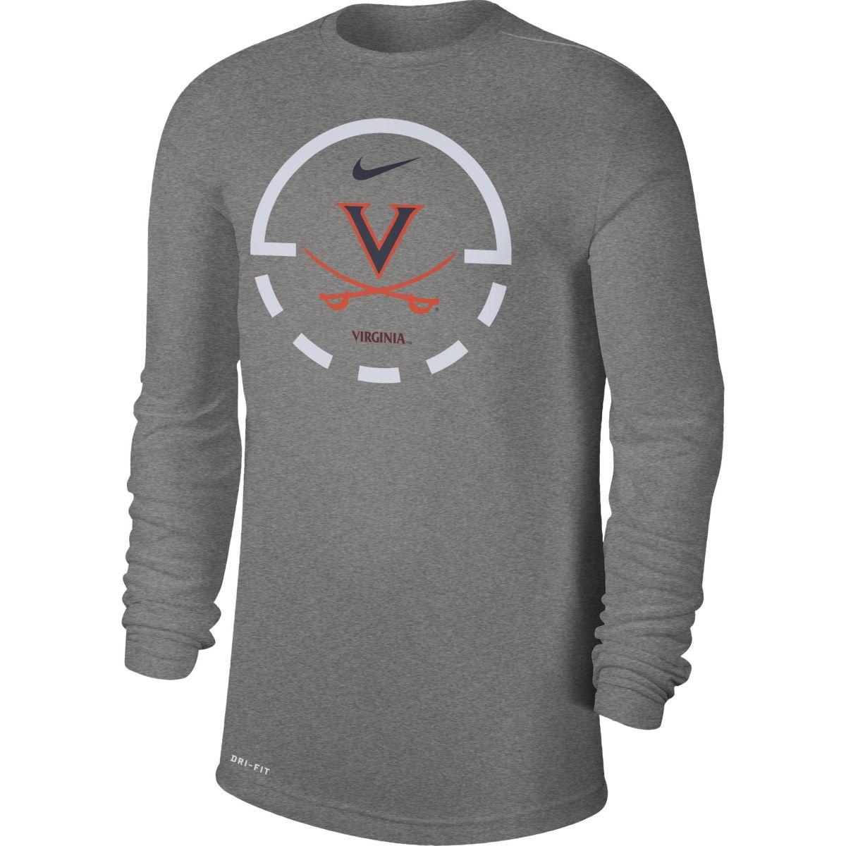 Virginia Basketball DriFit Legend LS T-shirt