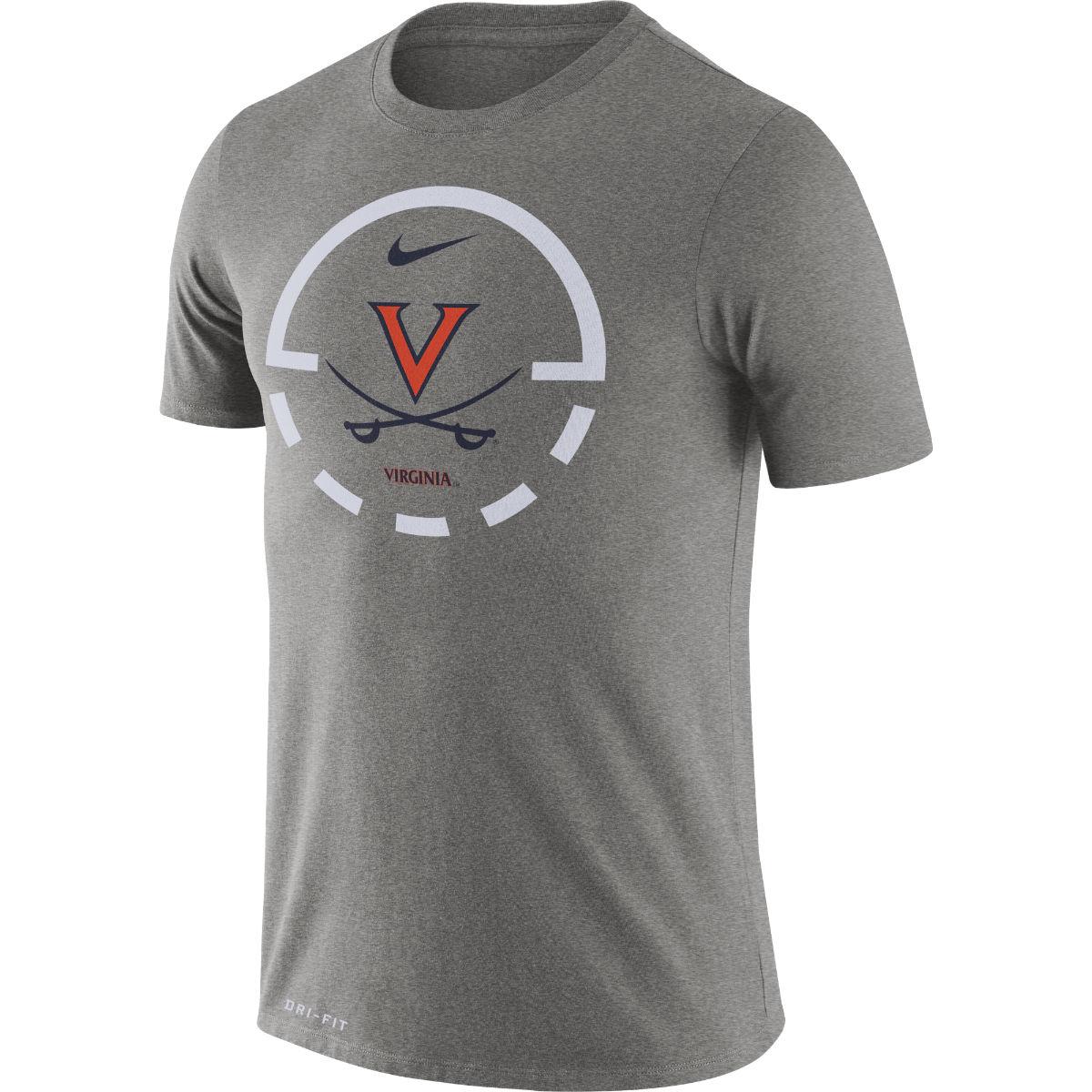 Virginia Basketball Foul Line T-shirt
