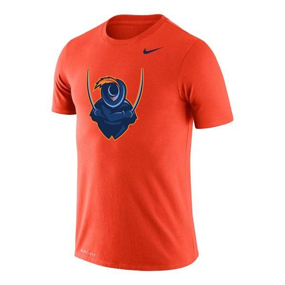 University of Virginia 2020 Cavalier Dri-FIT Legend Orange T-shirt