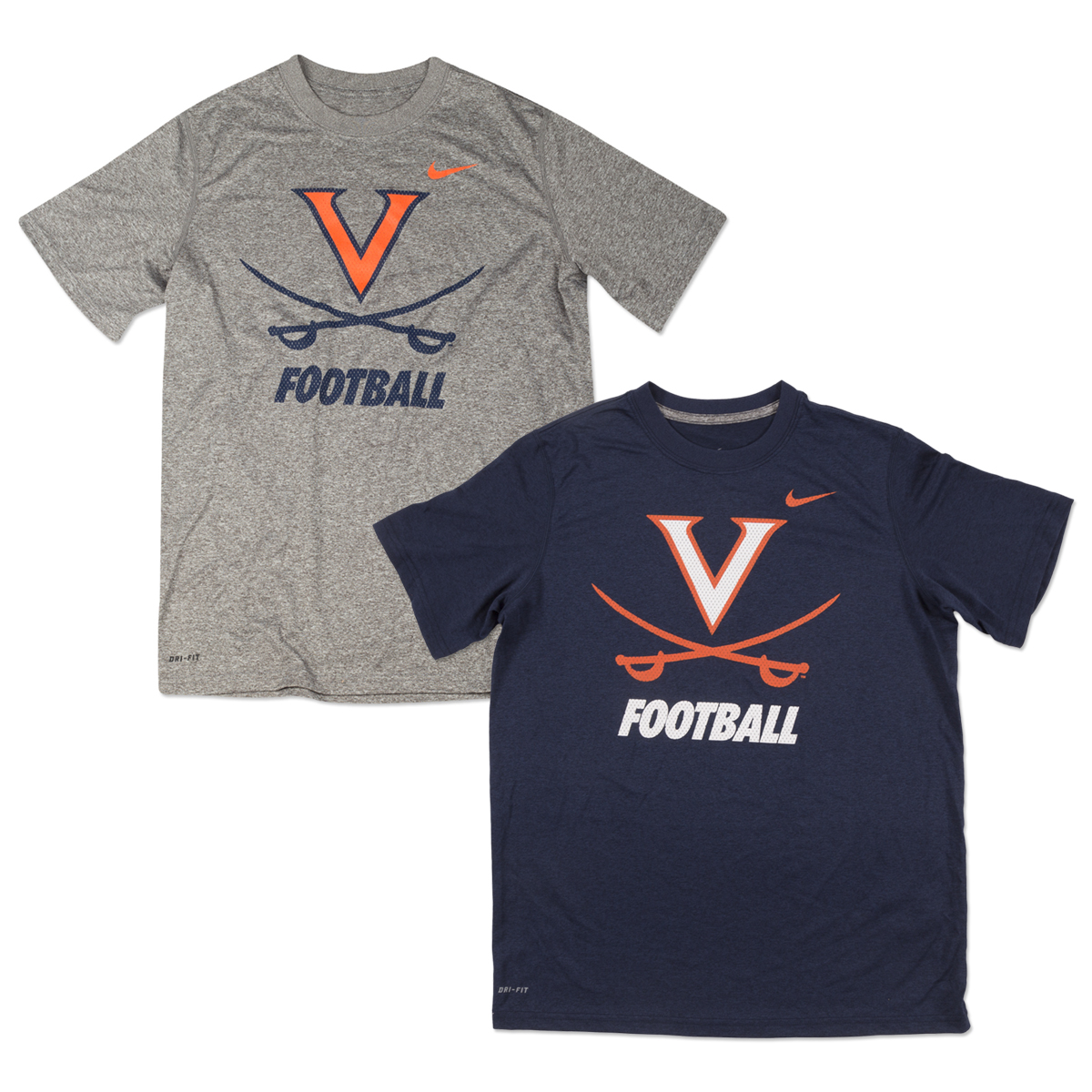 UVA NIKE Youth DriFit Legend Logo Tee