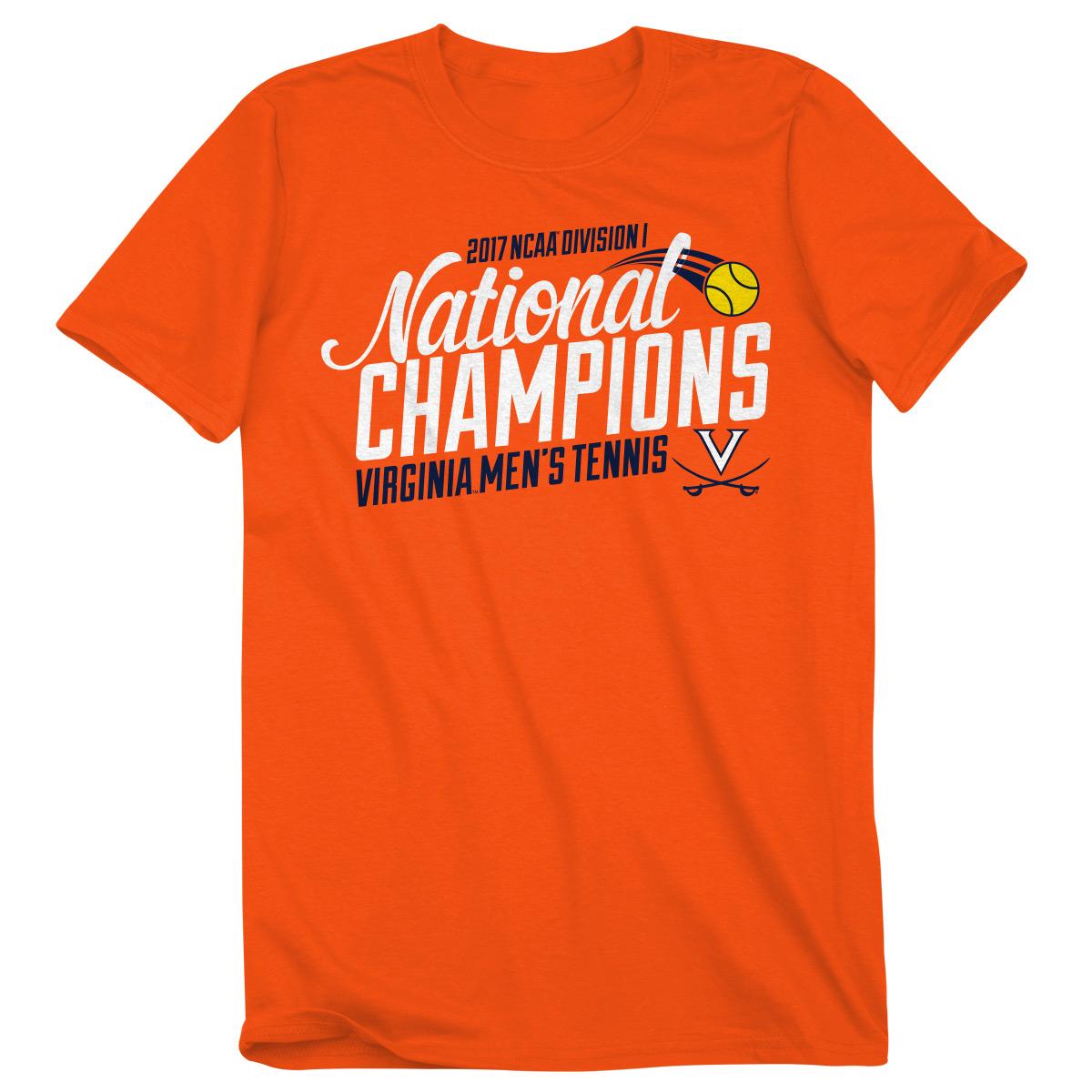 University of Virginia Tennis 2017 NCAA Champions T-shirt