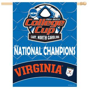 UVA Men's Soccer NCAA Champions Banner