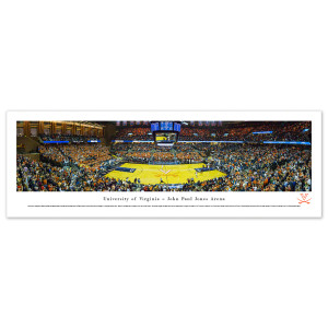 UVA Basketball Panorama Unframed (13.5 x 40)