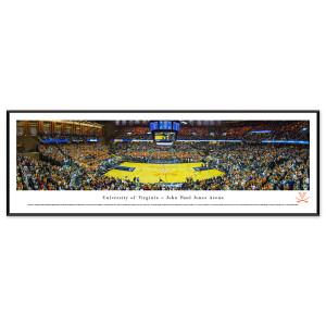 UVA Basketball Panorama Standard Frame (13.75 x 40.25)