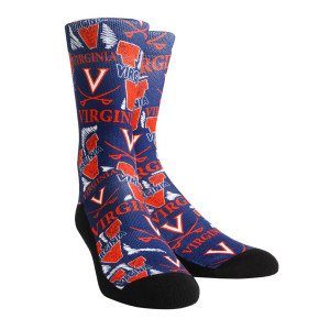 University of Virginia Logo Youth Socks