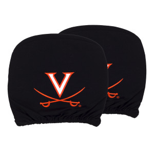 University of Virginia Headrest Cover Set (Set of 2)