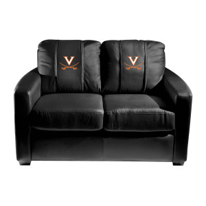 Virginia Cavaliers Collegiate Silver Love Seat