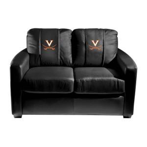 Virginia Cavaliers Collegiate Silver Love Seat