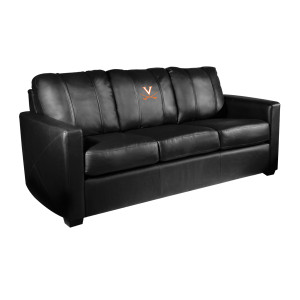 Virginia Cavaliers Collegiate Silver Sofa