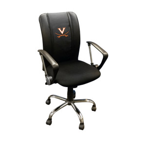 Virginia Cavaliers Collegiate Curve Task Chair