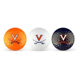 University of Virginia Cavaliers Golf Ball (Set of 3)