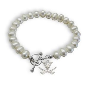 University of Virginia Cavaliers Freshwater Pearl Bracelet