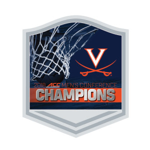 University of Virginia 2018 ACC Champs Lapel Pin