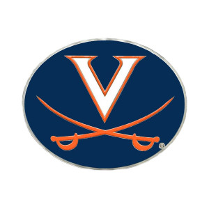 University of Virginia Cavaliers Hitch Cover Class III Wire Plugs
