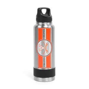 University of Virginia Stainless Steel Double Wall Insulated Thermo Water Bottle - (34 Oz)