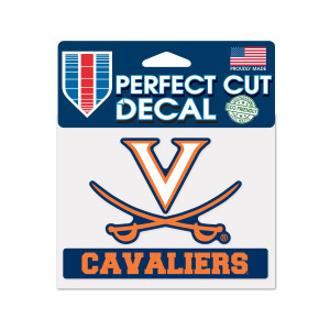 University of Virginia Cavaliers Perfect Cut Decal