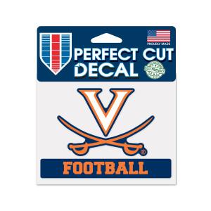 University of Virginia Football Perfect Cut Decal
