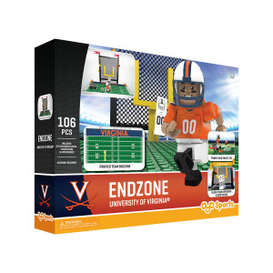 University of Virginia Football End Zone + Minifigure Set