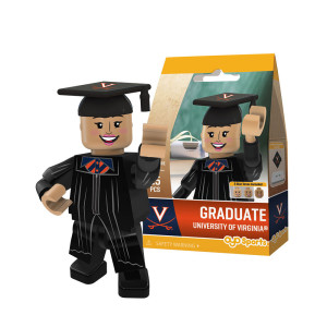 University of Virginia Female Graduate Mini-figure
