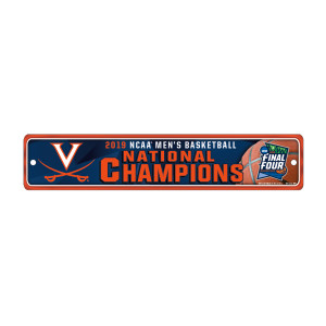 2019 National Champions Street Sign