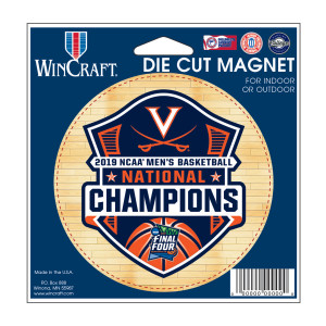 2019 National Champions Die-Cut Magnet