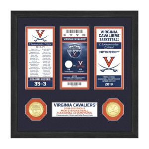 University of Virginia 2019 NCAA Men's Basketball National Champions Ticket Collection