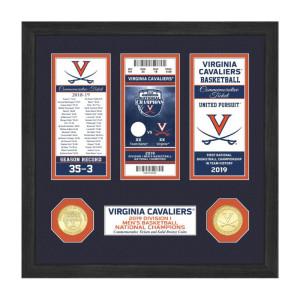 University of Virginia 2019 NCAA Men's Basketball National Champions Ticket Collection