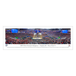 2019 NCAA Champions Celebration Panoramic Image